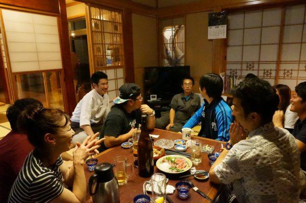 突きん棒漁3